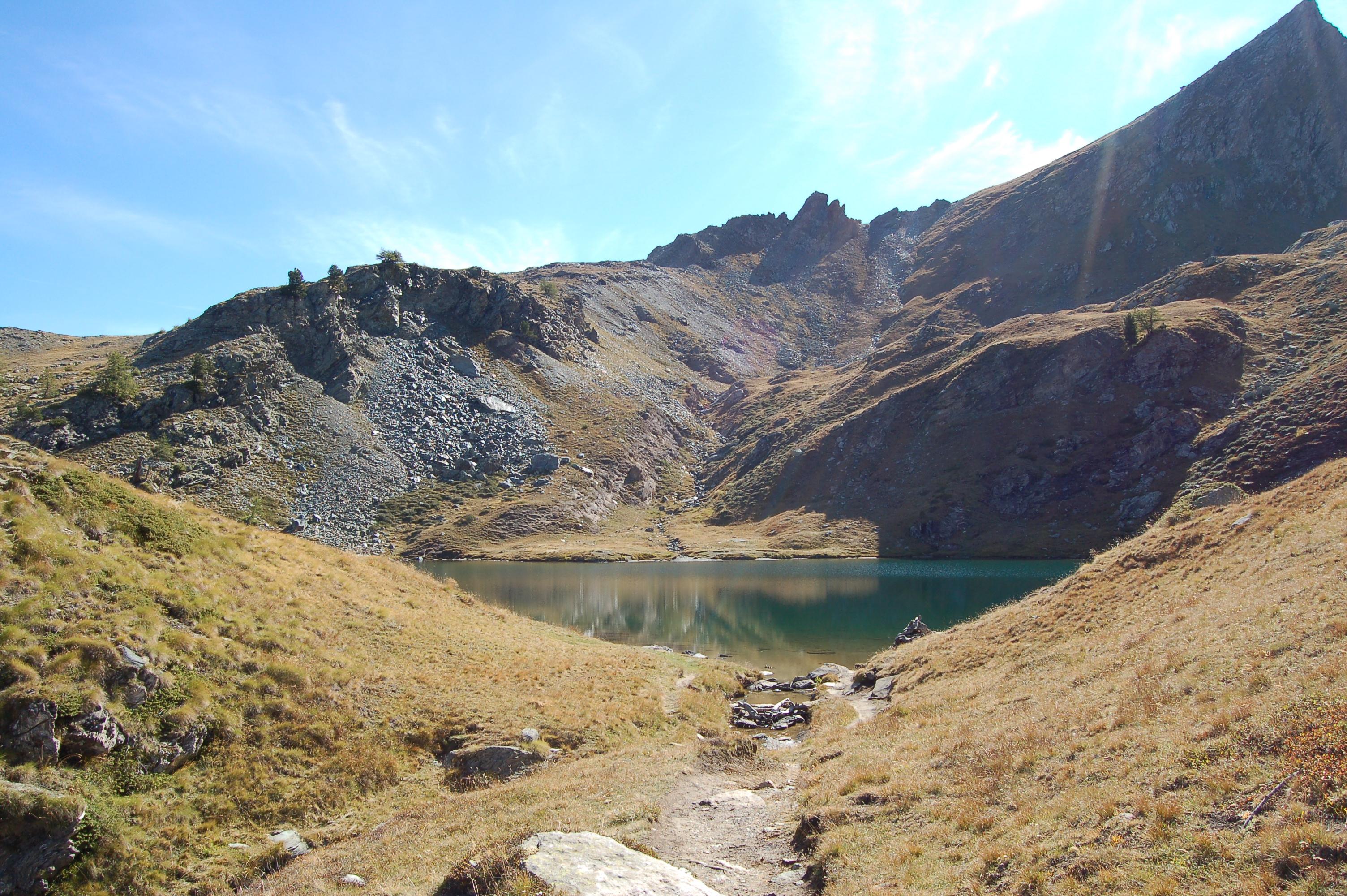 Lago di Loie e cascate di Lillaz 10