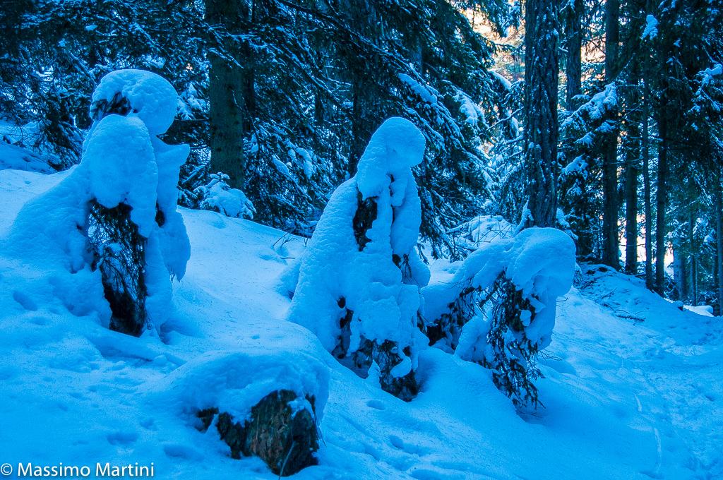 Snow prayers