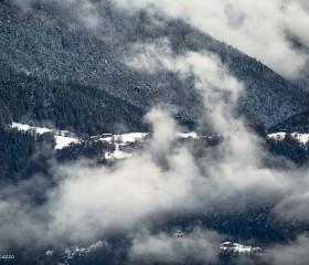 Alpages et hélicoptère © Fabio Bertuzzo