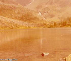 Lago d'Arpy Agosto 1973 ©1973 Giovanni Mazzolani
