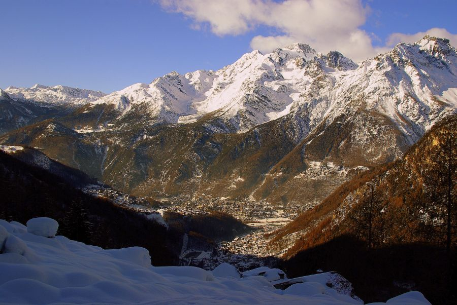Alpe pesc e for Affitti cabina sole valle