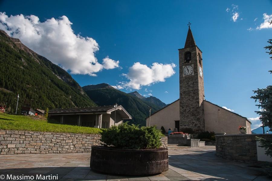 Oyace, chiesa parrocchiale