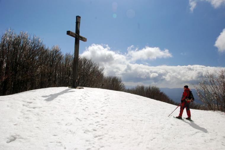 Monte Falterona, veduta invernale ©2009 Massimo Martini