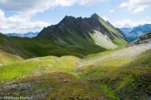 Col d'Arp, versante occidentale