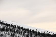Lungo l'antecima del Mont Zerbion